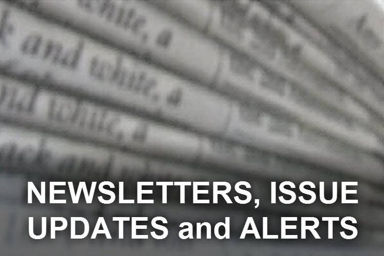 Newsletters, Issue Updates, and Alerts